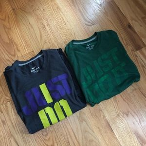 Nike Just Do It Dry Fit Men's Short Sleeve Size M